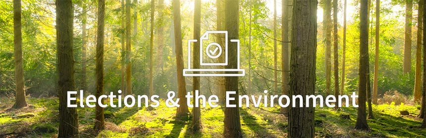 Reduce your carbon footprint with online elections