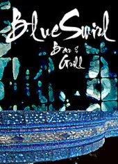 Blue Swirl Bar and Grill ad