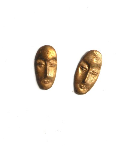 bronze faces