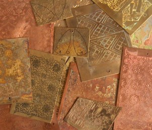 etched metal sheets for jewelry