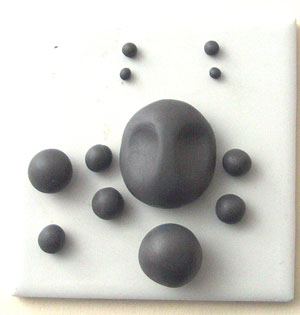 parts for a polymer clay face