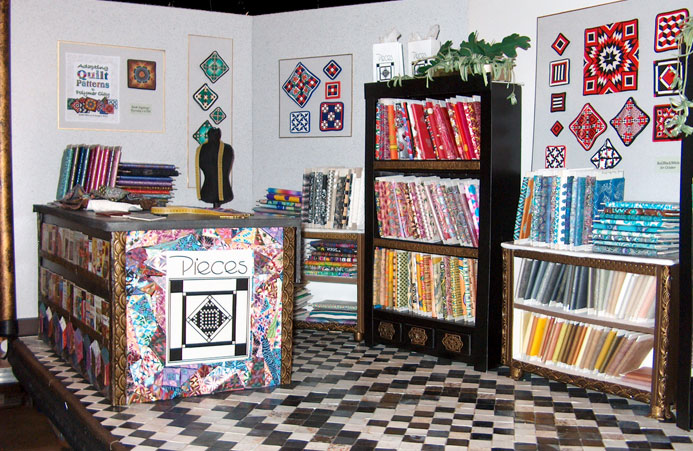 Creating & Stocking A Miniature Quilt Shop | Sarajane's Polyclay ... : quilt shops - Adamdwight.com