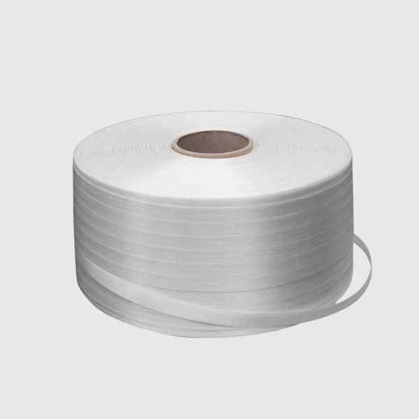Bobina reggia tessile bianca Polycomm
