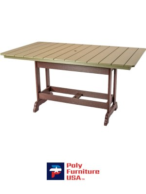 6' Counter Height Rectangle Table