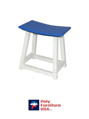 Dining Height Saddle Stool
