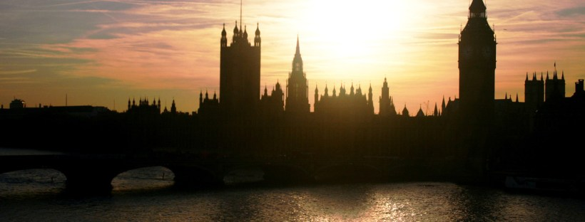 The Houses of Parliament, the seat of British politics