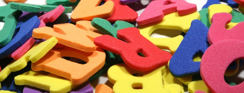 A jumble of letters - sort them out and have something to say!