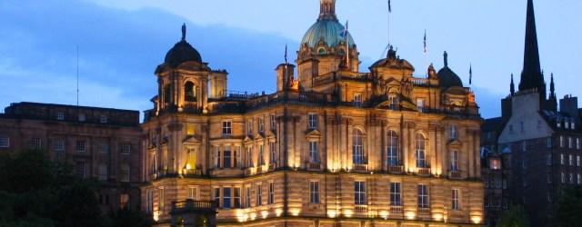 Edinburgh, home of EdFringe (Edinburgh Fringe Festival)