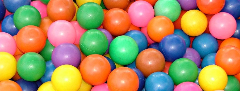 A vast array of colourful baubles, as varied as your own mass sentences can be. (Picture from freeimages.com)