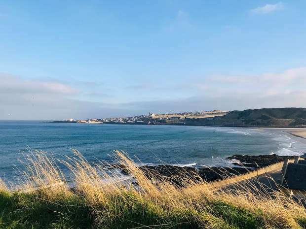 Macduff, viewed from Banff, Aberdeenshire - a special place, and a language learning retreat of mine