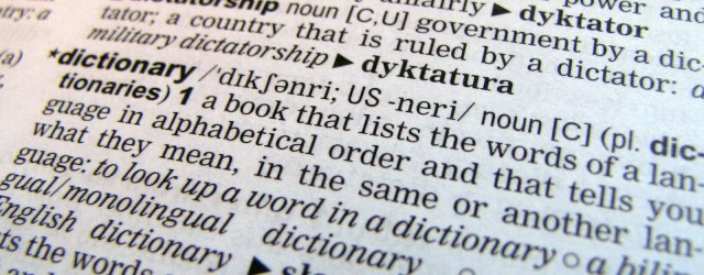 Dictionaries - a great fallback, but is it cheating? Image from freeimages.com