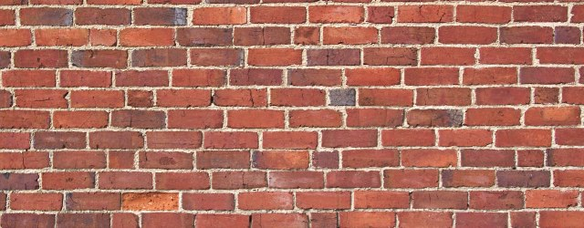 A brick wall. Image from freeimages.com.