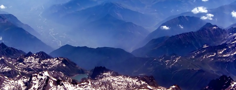 Mountainous landscape - build some margin into your life and breathe in the fresh air. Image from freeimages.com