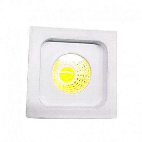 mini spot led carre bl cob 3w