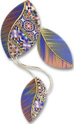 McCaw Falling Leaves Brooch