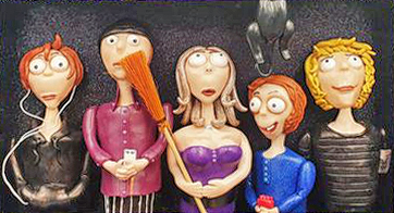 Andrha Simonis takes a candid, hilarious look at family on PolymerClayDaily.com