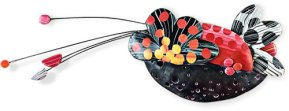 Bonnie Bishoff's multi-media bio bop in Boston on PolymerClayDaily.com