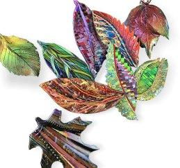 Carol Beal reinterprets a fall palette in polymer on PolymerClayDaily.com