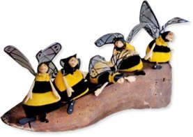 Kate Church polymer Wanna Bees