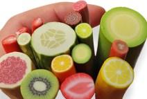 Helena Viberg makes amazing 12:1 miniature fruits and veggies on PolymerClayDaily.com