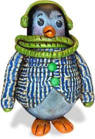 Gail Garbe shows how she takes her studio on the road on PolymerClayDaily.com