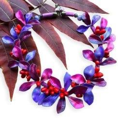 Welcome back! Vibrant fall colors from Irina Karminova on PolymerClayDaily.com