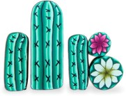 Ivy Niles sells raw cactus canes...some assembly required on PolymerClayDaily