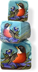 Nature flies into Jayne Dwyers' remarkable canes on PolymerClayDaily.com