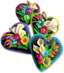 Ketzel's flowered hearts