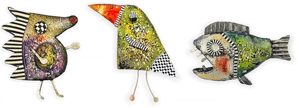 Barbara Nalepa's quirky characters enliven a 10-day challenge on PolymerClayDaily.com
