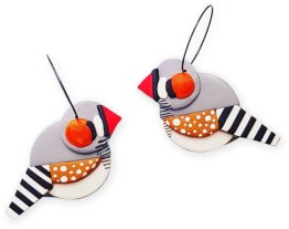 Marni Southam has turned a love of birds into an earring business on PolymerClayDaily.com