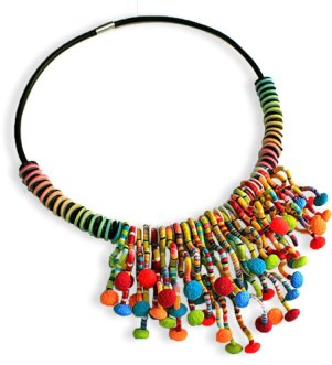 Silvia de la Torres explosion of colors becomes a winner on PolymerClayDaily