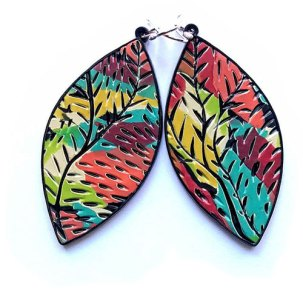 Shelley Atwood puts her own spin on scrap mokume gane earrings on PolymerClayDaily.com
