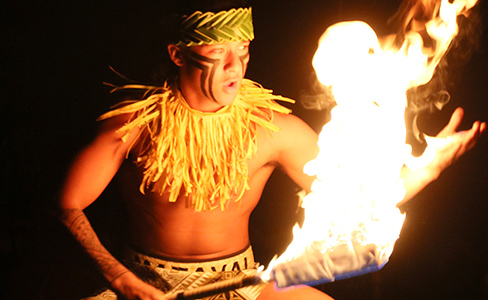 PCC Samoan World Fireknife Championship intermediate 2nd place
