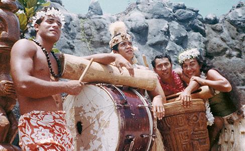Patoa Benioni and original Polynesian Cultural Center employees