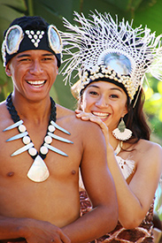 Cook Island performers at the Polynesian Cultural Center