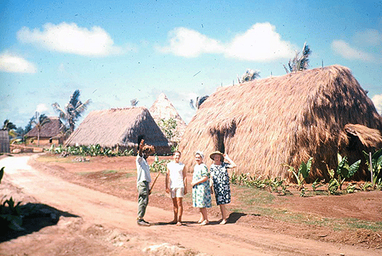 The PCC Hawaiian Village, summer 1963
