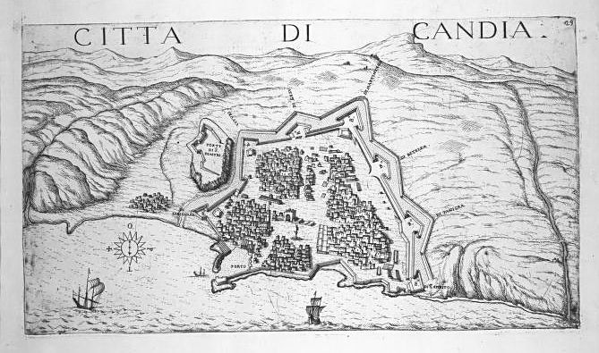 Relief Models of Venetian Fortifications at the Church of Santa Maria del Giglio