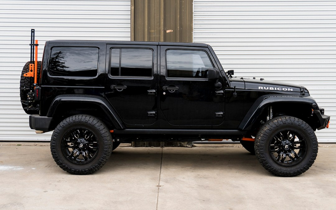2014 Jeep JK | Currie Front Axle Swap and Re-Gear