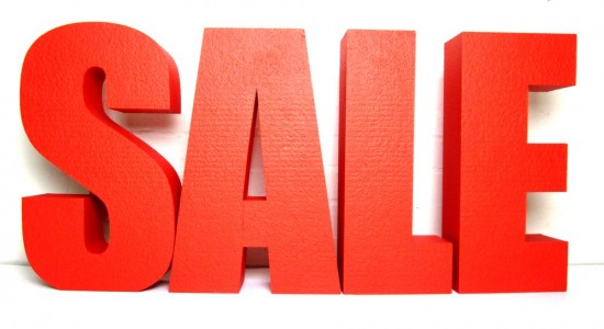 big-red-sale-letters