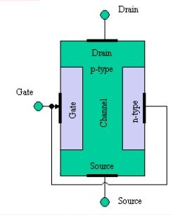 Construction of Pchannel junction field effect transistor (JFET)  Polytechnic Hub