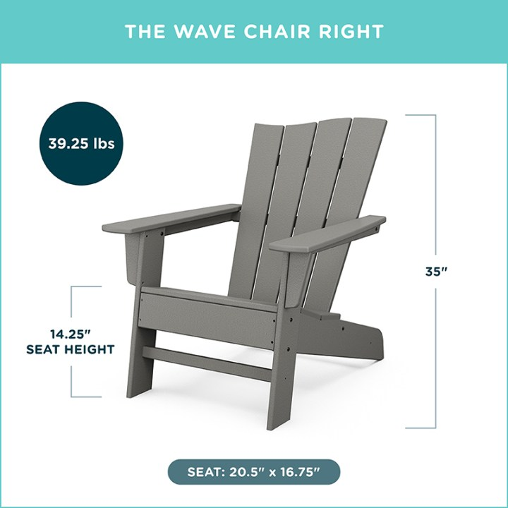 The Wave Chair Right