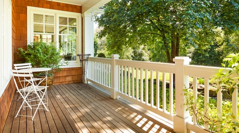 outdoor porch fencing ideas