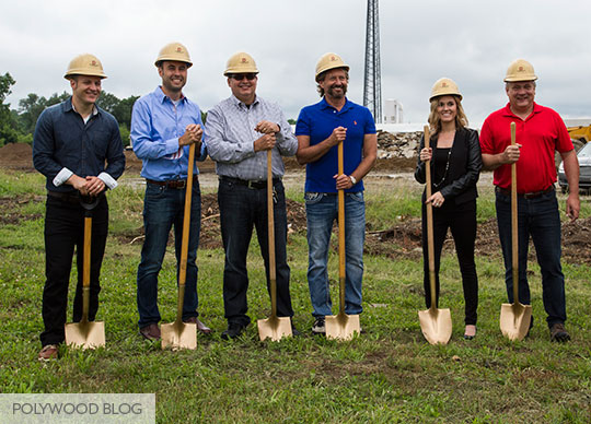 Leadership-Team-Before-Groundbreaking-Ceremony-POLYWOOD-Blog