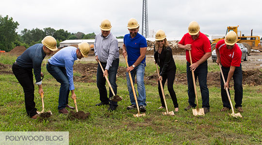 Leadership-Team-Groundbreaking-Ceremony-POLYWOOD-Blog