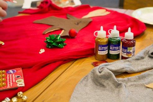 POLYWOOD DIY Ugly Christmas Sweater