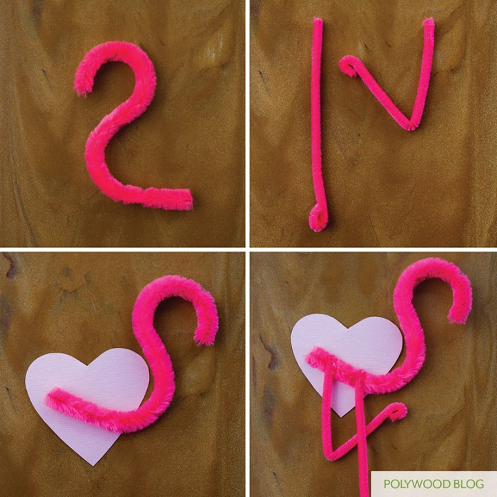 DIY-Flamingo-Valentines-POLYWOOD-Blog-Steps1-4