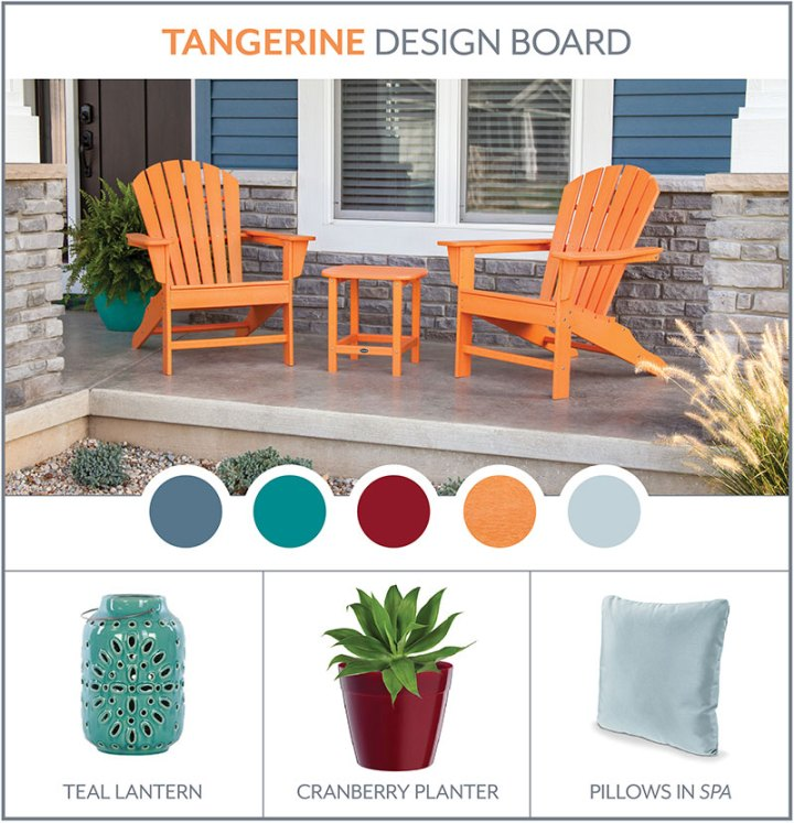 tangerine-south-beach-adirondack-design-board
