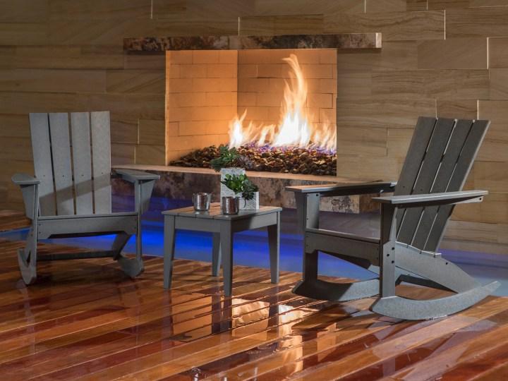 Quattro 3-Piece Rocking Chair Set