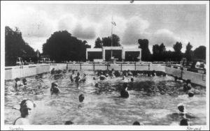 Szentesi strandfürdő 1932